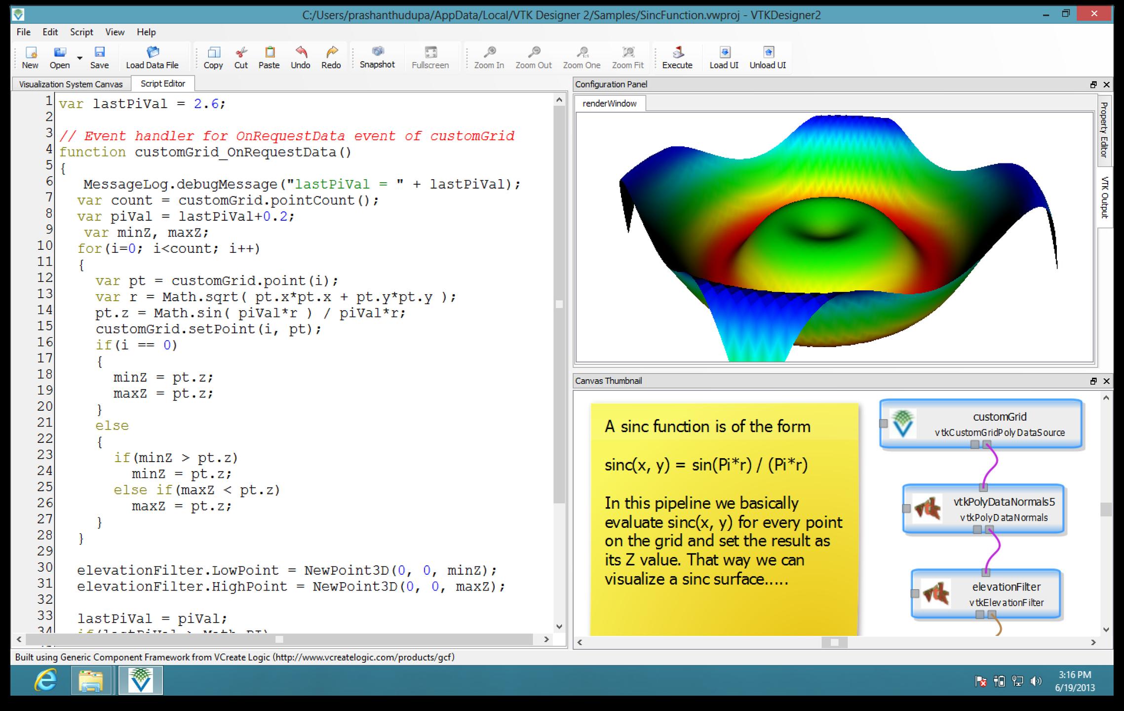 VTK Designer download   SourceForge net