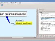 Slide editor for creating animated presentation