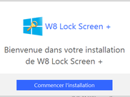 Programme d'installation de W8 Lock Screen +