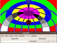 COLORGRID generated test pattern