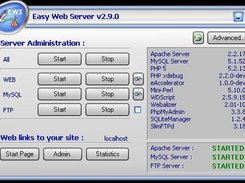 Easy web server 2.9.0 (English language)