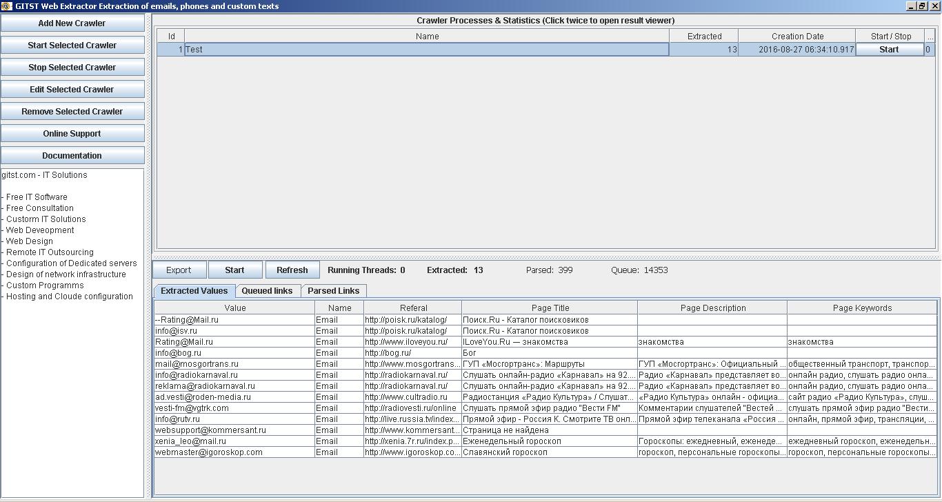 TotalData Web Data Extractor Enterprise - flexstaff