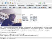Webcam-PZ 0.1.0 With me in frame