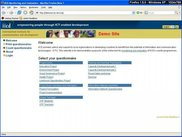 Homepage demosurvey of iicd