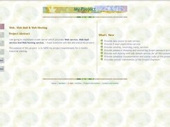 Home page of Web Mail Server