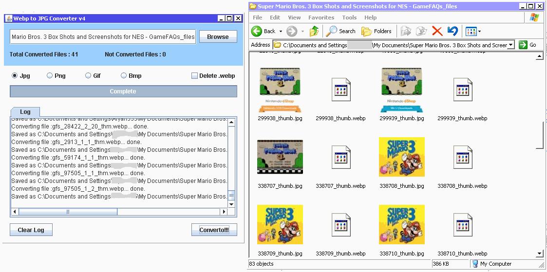 Webp Bulk Image Converter download   SourceForge net