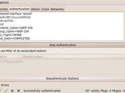 Fake authentication with wpa_supplicant