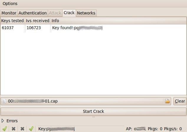 descargar wep crack  linux