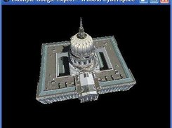 Demonstration of loading model from Google 3D Warehouse