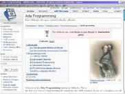 "Wikibook ""Ada Programming"" rendered by Opera"