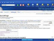 WikiBrowser with Wikipedia Article