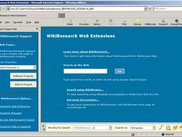 Microsoft Internet Explorer - WikiSearch Bars