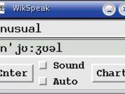 WikSpeak 0.1 running in Manual Mode on Linux