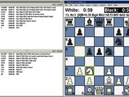 Chess with Engine Output Window