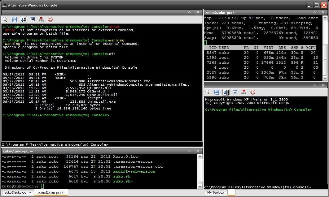 Alternative Windows Console Download Sourceforge Net