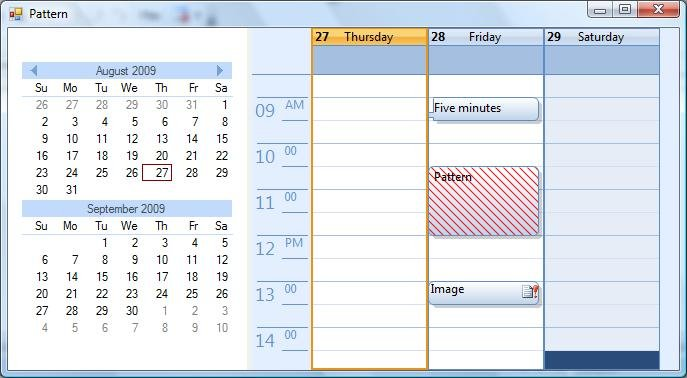 Winforms Calendar download | SourceForge net