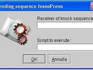 dialog to send a knock sequence