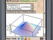 3D plot with WITM 0.62 and Mathematica 5.2 on an iPAQ