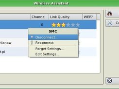 Connected Network Context Menu : 0.5.1