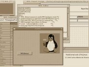 Classical style of WOL Designer aparence in Linux on GTK.