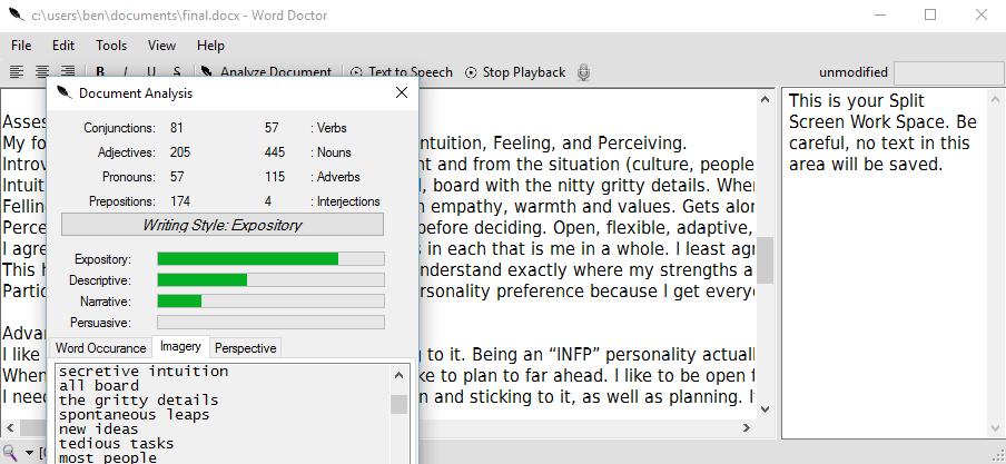 Word Doctor screenshot