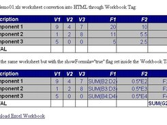 Excel HTML Editor Tag download   SourceForge net