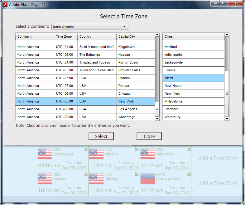 World Clock for PC and Mac download | SourceForge net