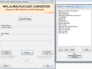 Playlist Viewer and Editor