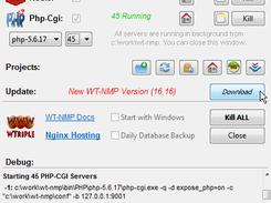 WinNMP - Windows Nginx MySql Php 7 stack download