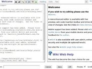 Edit with wiki markup and see live preview as you type