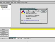wxDeveloper Studio Main Window with About Box Displayed