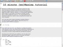 wxMaxima download | SourceForge net