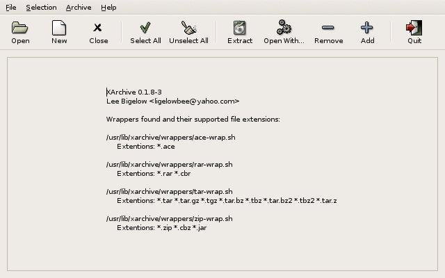 XArchive download | SourceForge net