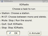 XDRadio main window in English