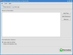 Xena 4.0 main user interface