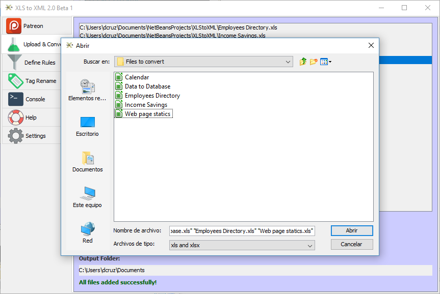 free xls to xml converter software download