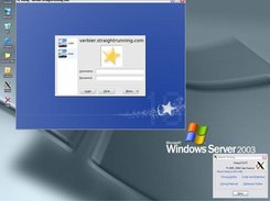 Windows desktop, XDMCP login.
