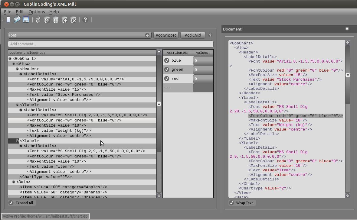 xml editor for ubuntu