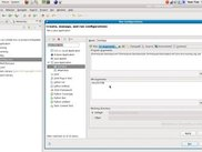 Screenshot of the User Interface --- Input from Eclipse IDE