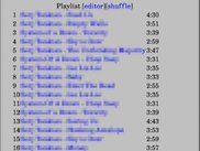 XMMS2SWI playlist in links2 browser (X display driver)