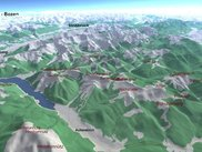 The Alps from OSM-3D