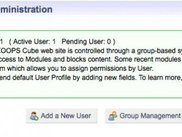 Control Panel - User and Group Management