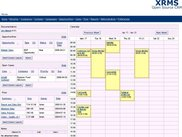 User Home Page with Calendar View