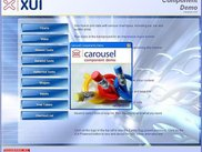 A demo XUI application, see the XUI Zone for more info
