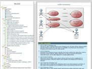 Integrated model view