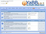 YaBB 2.5.2 Main Board Index