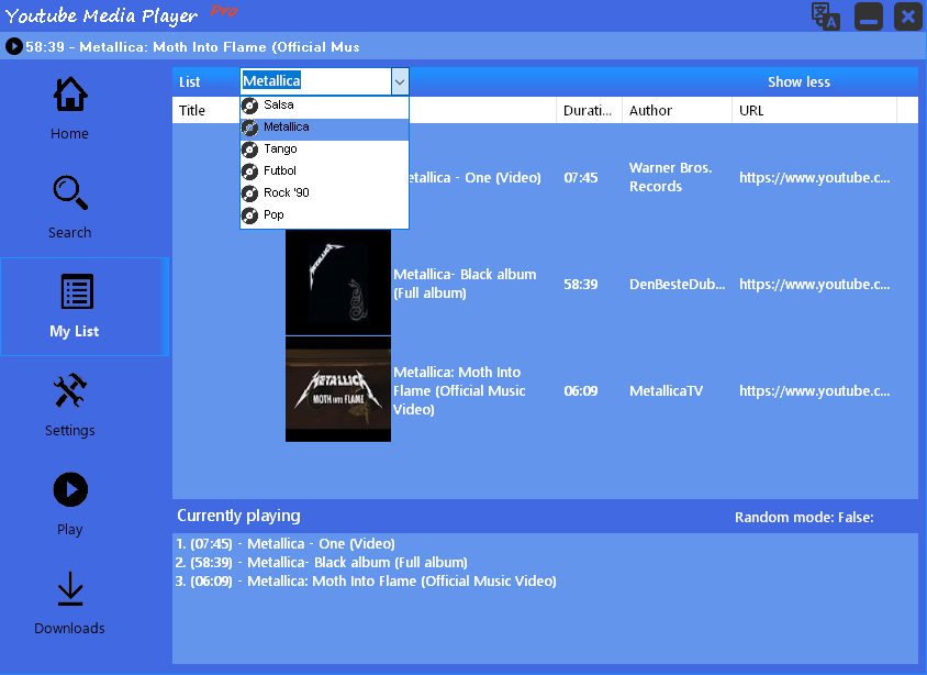 Youtube Media Player download | SourceForge net