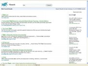 Ysearch Search Result page