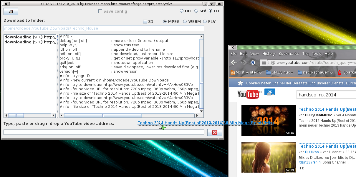 java YouTube video Downloader (ytd2) download | SourceForge net