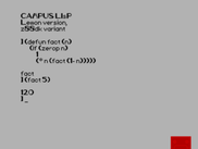 Lisp Interpreter Compiled for ZX Spectrum